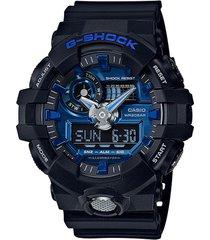 reloj g shock ga_710_1a2 negro resina