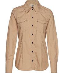 micheline overhemd met lange mouwen beige baum und pferdgarten