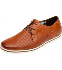 zapato formal casual fashion cali tan flexi