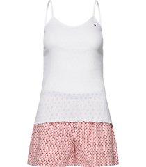 cami short set pointelle pyjama wit tommy hilfiger