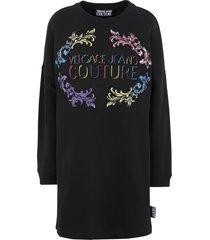 versace jeans couture short dresses