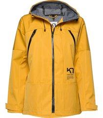 bavallen jacket parka lange jas jas geel kari traa