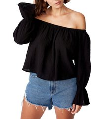 cotton on coco off the shoulder blouse