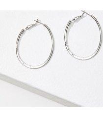 loft oval hoop earrings