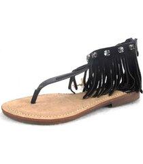 sandalia altair negro chalada