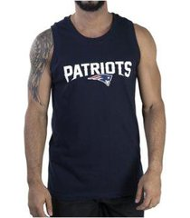 camiseta regata new era new england patriots