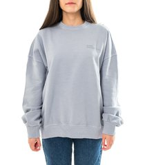 dr. denim felpa donna dr. denim drfergie sweatshirt 2111111.t84