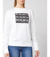 hugo women's nacita 1 sweatshirt - white - xs