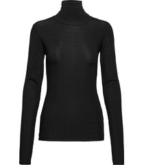 bea blouse t-shirts & tops long-sleeved zwart birgitte herskind