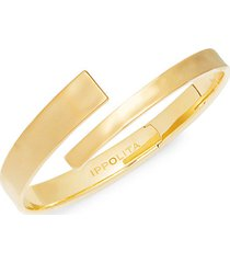 senso 18k yellow embrace bangle bracelet