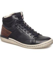 alvin mid m shoes boots winter boots svart björn borg