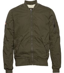rookie winter duty bomber bomberjacka jacka grön superdry