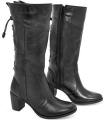 bota feminina cano médio montaria bmbrasil 2000 - feminino