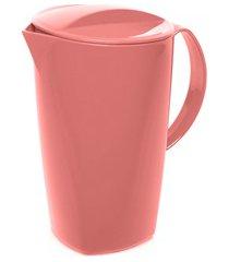 jarra em poliestireno luna vitra rosa quartzo 2 litros