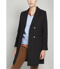 abrigo mujer muflon negro elemental 2 liola