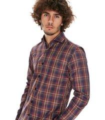 camisa marrón crow dallas originals