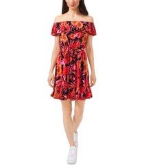 riley & rae amanda tropical-print dress, created for macy's