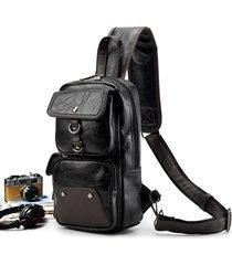 multi-funzionale da viaggio per esterni da viaggio spalla borsa petto borsa sling borsa crossbody borsa per gli uomini