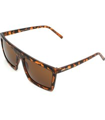 óculos de sol hang loose premium camo tortoise marrom - kanui