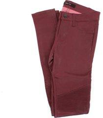 j brand l8094 leggings women burgundy