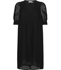 debbyiw dress jurk knielengte zwart inwear