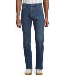 john varvatos star u.s.a. men's bowery slim straight jeans - blue - size 38