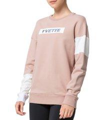 yvette women's round-neck sweatshirt