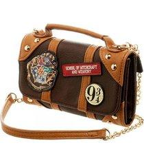 harry potter handbag hogwarts school of witchcraft crossbody wallet purse gift