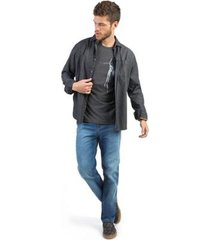 calça jeans reta taco vintage flex destroyer masculina