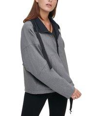 dkny reversible zip-up jacket