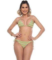 biquini cortininha ripple havai maré brasil feminino - feminino