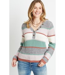 maurices womens henley pullover sweater