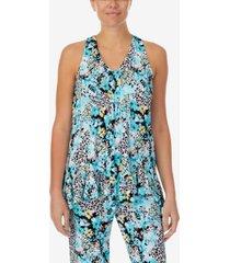 women's sleeveless pajama set with satin pillowcase
