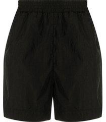 1017 alyx 9sm plain slip-on swim shorts - black