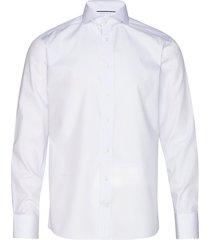 blue twill shirt overhemd business blauw eton