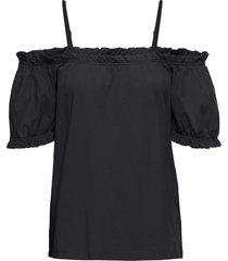 maglia con spalle scoperte (nero) - bodyflirt