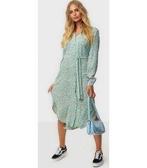 pieces pcviolet ls midi shirt dress d2d loose fit dresses