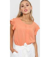 blusa naranja new liza 20-46