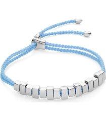 sterling silver linear ingot friendship bracelet