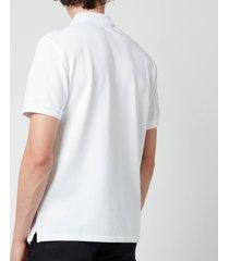 ami men's de coeur polo shirt - white - xl