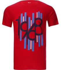 camiseta 1968 color rojo, talla s