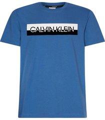 t-shirt logo blauw