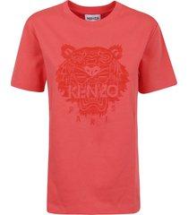 kenzo light tiger loose t-shirt