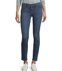 j brand women's maude mid-rise skinny jeans - mesmeric - size 23 (00)