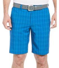 pga tour men's glen plaid golf shorts