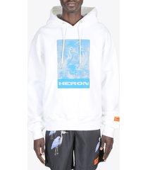 heron preston hoodie heron litho