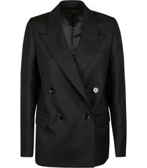 acne studios oversize double-breasted dinner jacket