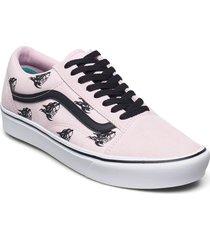 ua comfycush old skool låga sneakers rosa vans