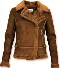 blazer z design bikerjack suede - lammy coat -