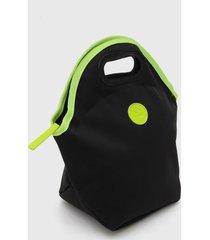 bolsa tã©rmica colcci fitness neon preta/verde - preto - feminino - dafiti